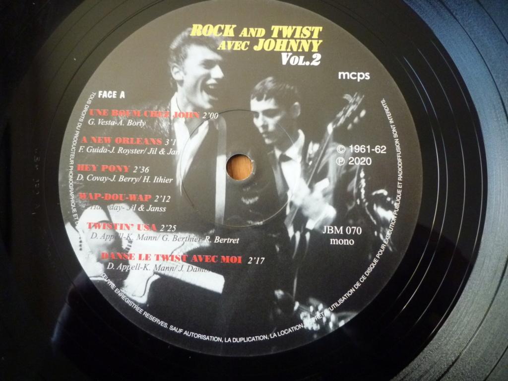 """25cm-33 tours """"rock and twist, volume 2"""" édité par JBM P1610117"""