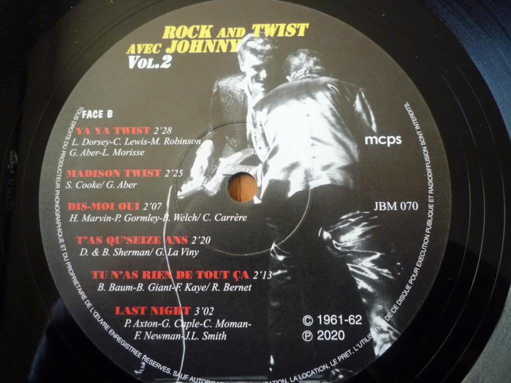 """25cm-33 tours """"rock and twist, volume 2"""" édité par JBM P1610118"""