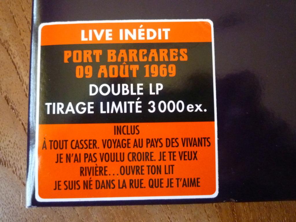 """double 33 tours """"Johnny 69, live Port Barcarès"""" édité par mercury P1610146"""