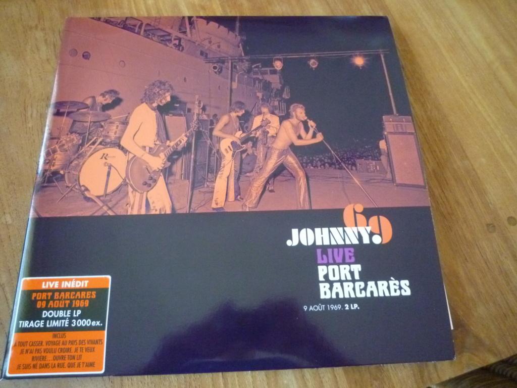 """double 33 tours """"Johnny 69, live Port Barcarès"""" édité par mercury P1610147"""