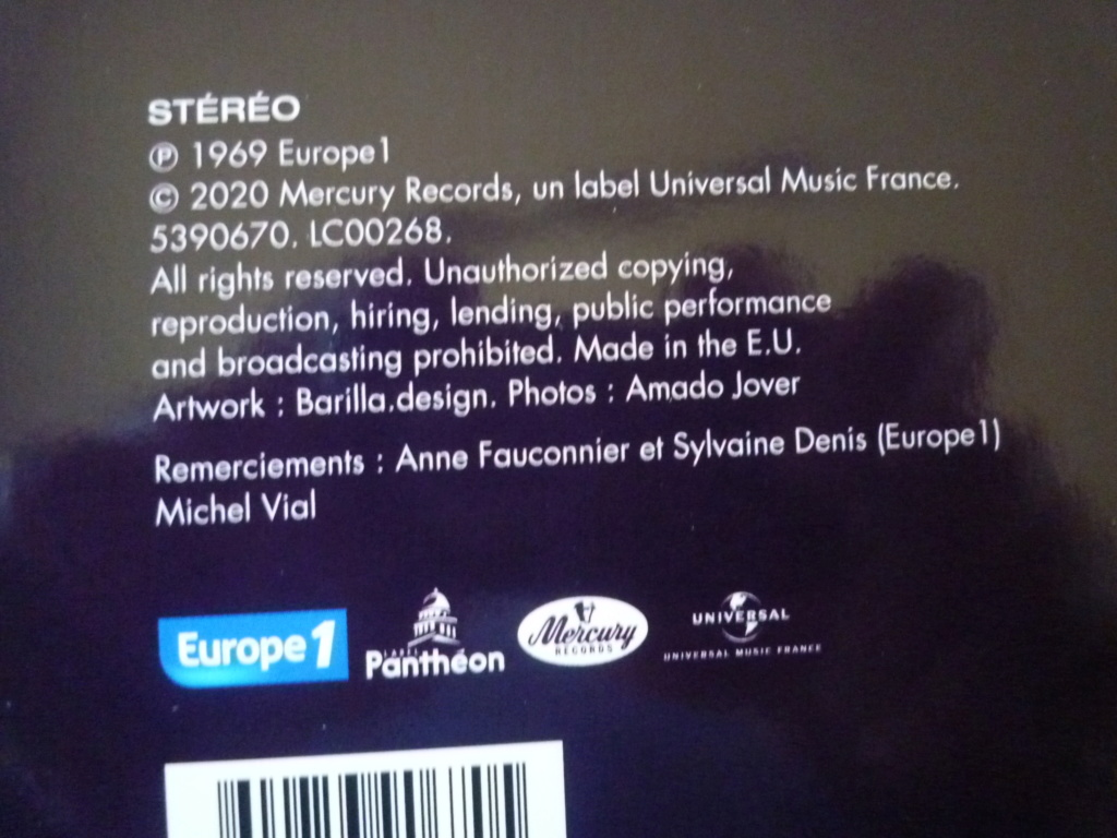 """double 33 tours """"Johnny 69, live Port Barcarès"""" édité par mercury P1610148"""