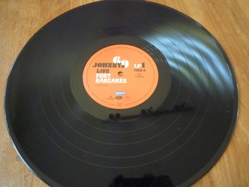 """double 33 tours """"Johnny 69, live Port Barcarès"""" édité par mercury P1610149"""