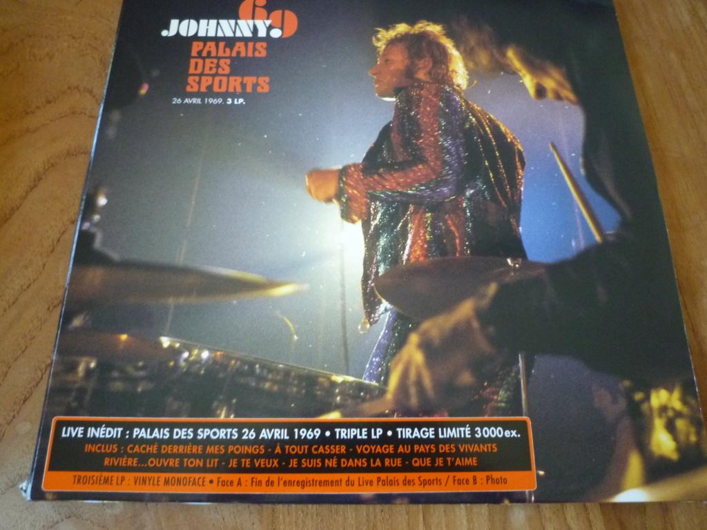 """triple 33 tours """"Johnny 69, palais des sports"""" édité par mercury P1610151"""