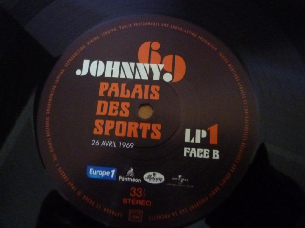 """triple 33 tours """"Johnny 69, palais des sports"""" édité par mercury P1610153"""