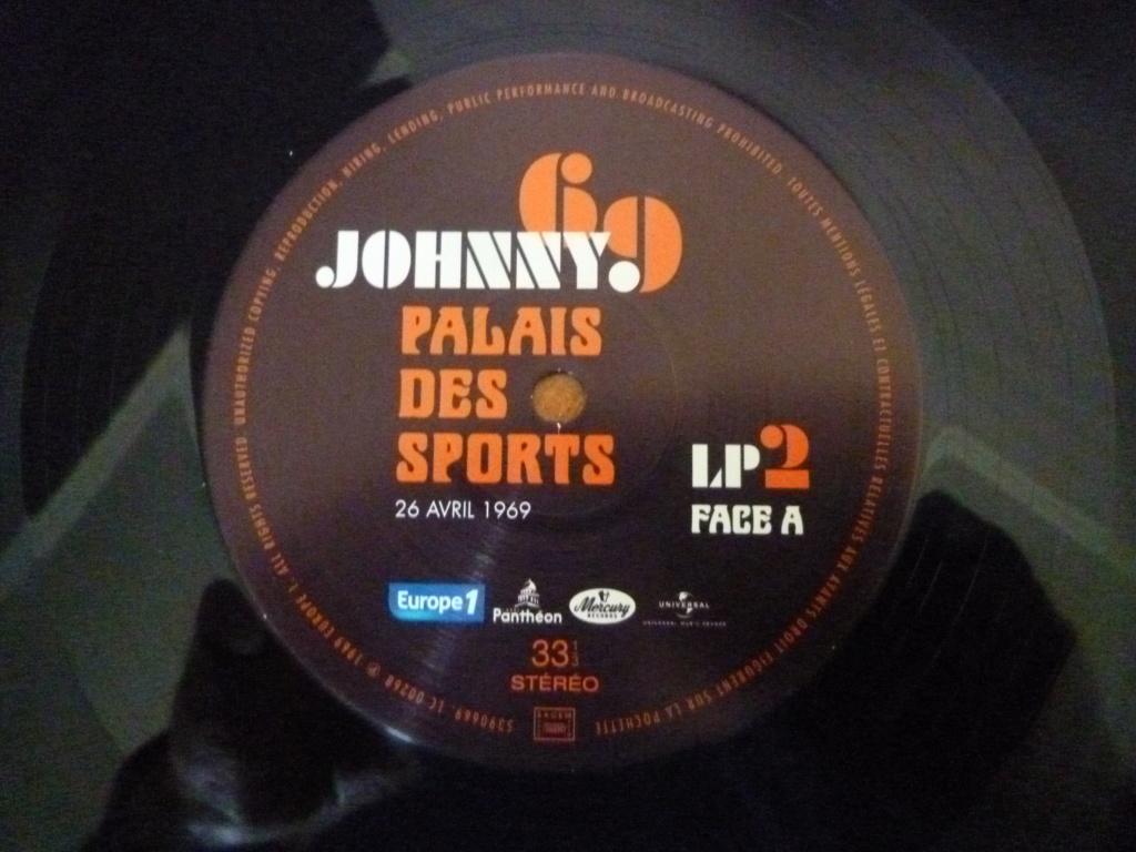 """triple 33 tours """"Johnny 69, palais des sports"""" édité par mercury P1610154"""