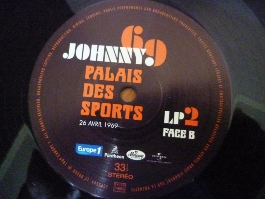 """triple 33 tours """"Johnny 69, palais des sports"""" édité par mercury P1610155"""