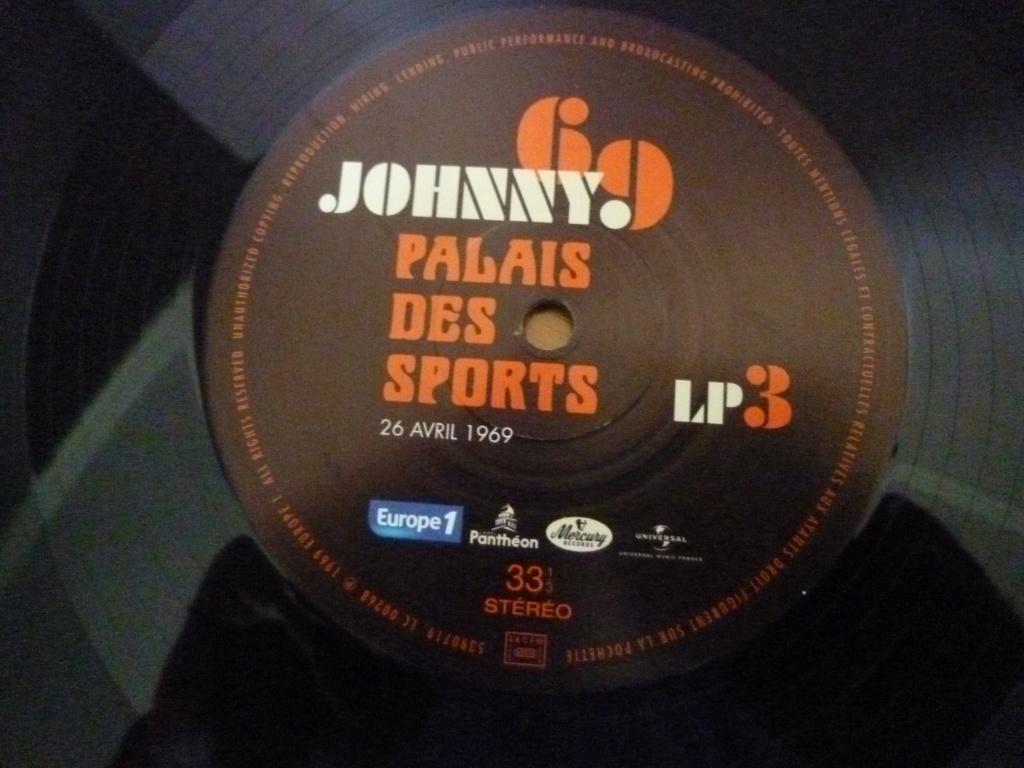 """triple 33 tours """"Johnny 69, palais des sports"""" édité par mercury P1610157"""