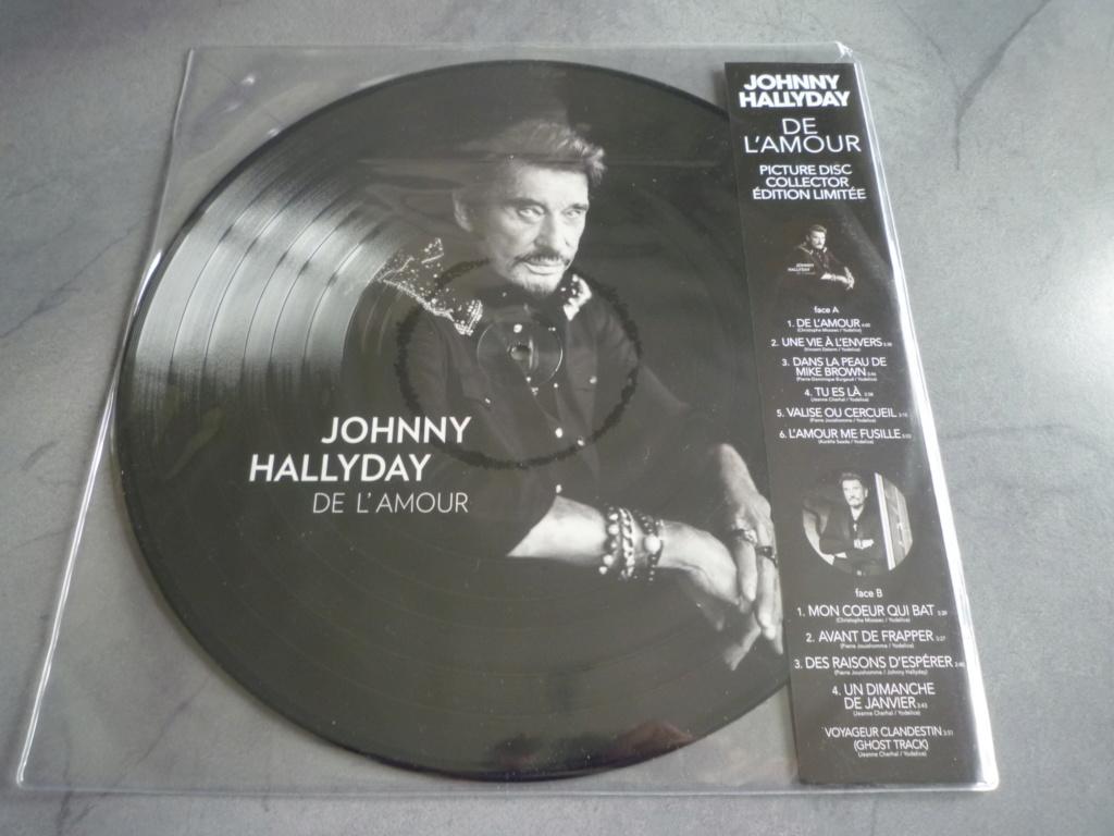 """picture disc 33 tours """"de l'amour"""" édité par Warner Music P1610159"""