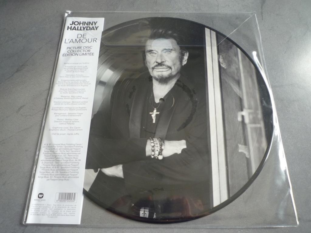 """picture disc 33 tours """"de l'amour"""" édité par Warner Music P1610160"""