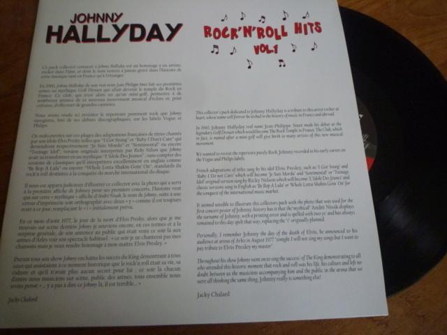 """25CM """"rock'n'roll hits, volume 1"""" édité par BIG BEAT RECORDS - second pressage - P1610337"""