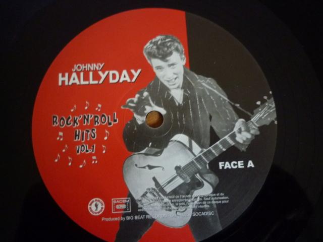 """25CM """"rock'n'roll hits, volume 1"""" édité par BIG BEAT RECORDS - second pressage - P1610340"""