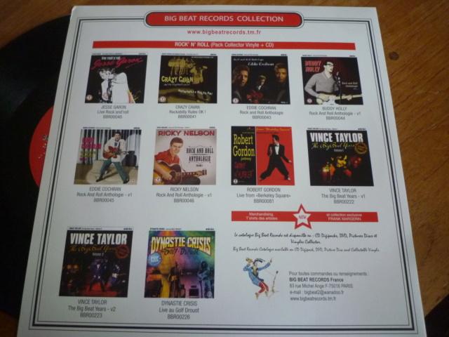"""25CM """"rock'n'roll hits, volume 1"""" édité par BIG BEAT RECORDS - second pressage - P1610341"""
