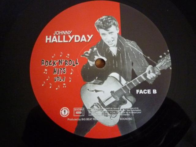 """25CM """"rock'n'roll hits, volume 1"""" édité par BIG BEAT RECORDS - second pressage - P1610342"""