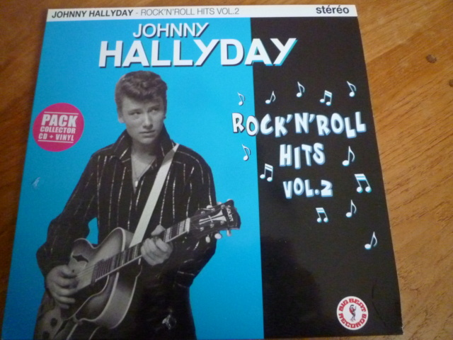 """25CM, """"rock'n'roll hits, volume 2 """" édité par BIG BEAT RECORDS - second pressage P1610345"""