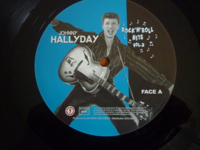 """25CM, """"rock'n'roll hits, volume 2 """" édité par BIG BEAT RECORDS - second pressage P1610352"""