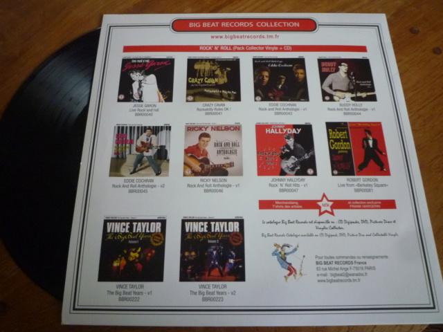 """25CM, """"rock'n'roll hits, volume 2 """" édité par BIG BEAT RECORDS - second pressage P1610353"""
