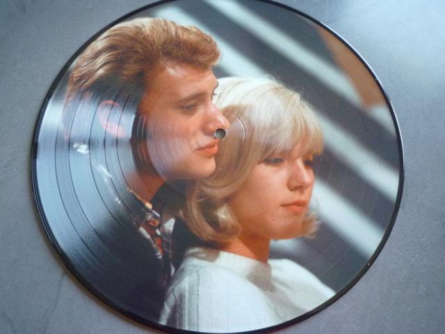 """Picture disc """"Johnny et Sylvie"""" édité par JBM P1610375"""