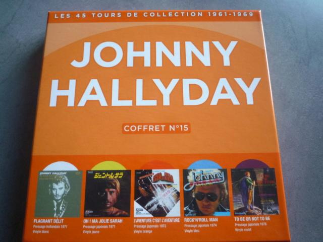 coffret n° 15 des 45 tours de collection 1961-1969 édité par POLYGRAM P1610427