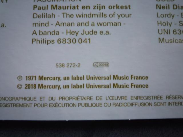 coffret n° 15 des 45 tours de collection 1961-1969 édité par POLYGRAM P1610430