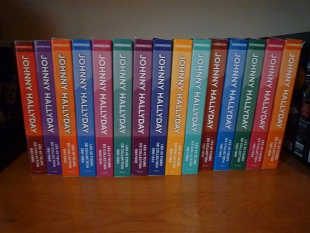coffret n° 15 des 45 tours de collection 1961-1969 édité par POLYGRAM P1610462