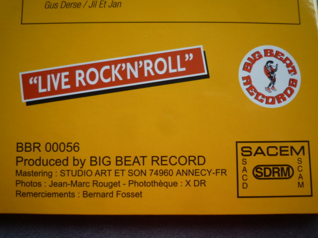"25CM-33 tours ""Gone Johnny Gone"" édité par BIGBEATRECORDS P1610469"