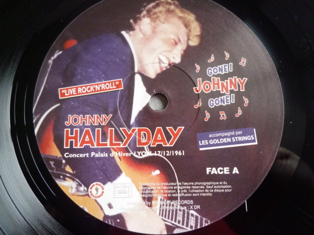 "25CM-33 tours ""Gone Johnny Gone"" édité par BIGBEATRECORDS P1610474"