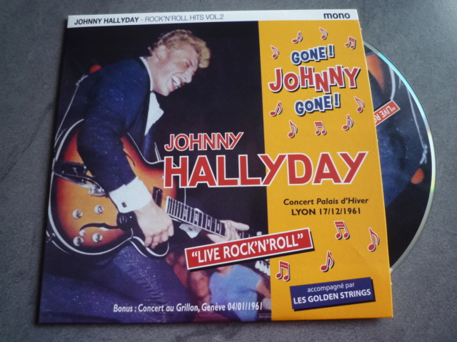"25CM-33 tours ""Gone Johnny Gone"" édité par BIGBEATRECORDS P1610477"
