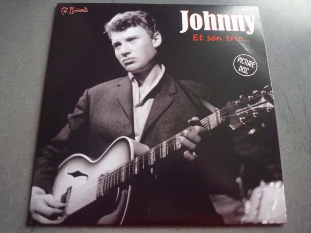 """picture disc """"Johnny et son trio"""" édité par CAT RECORDS P1610478"""