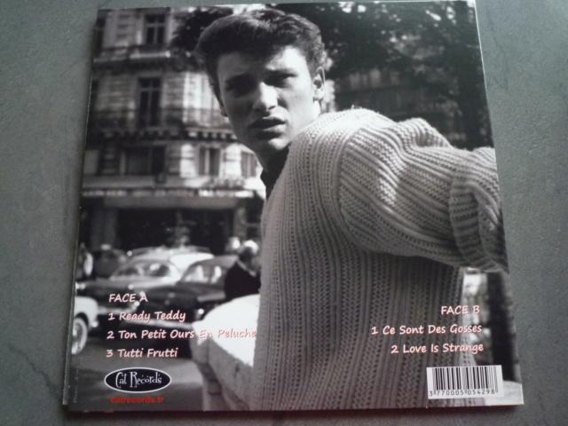 """picture disc """"Johnny et son trio"""" édité par CAT RECORDS P1610479"""