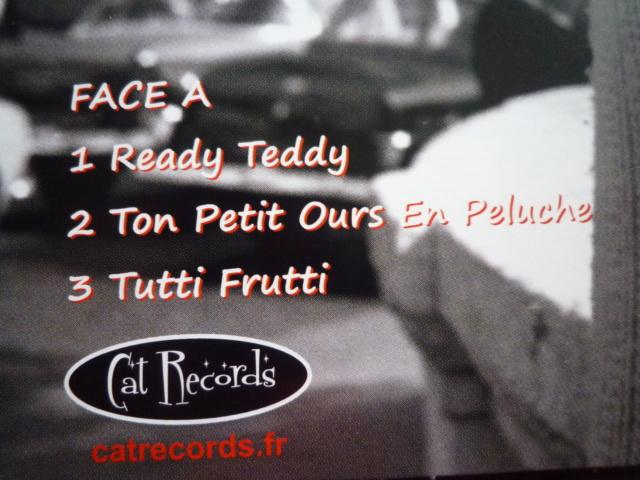 """picture disc """"Johnny et son trio"""" édité par CAT RECORDS P1610480"""