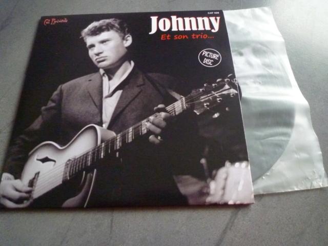 """picture disc """"Johnny et son trio"""" édité par CAT RECORDS P1610481"""