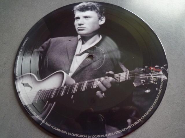 """picture disc """"Johnny et son trio"""" édité par CAT RECORDS P1610485"""