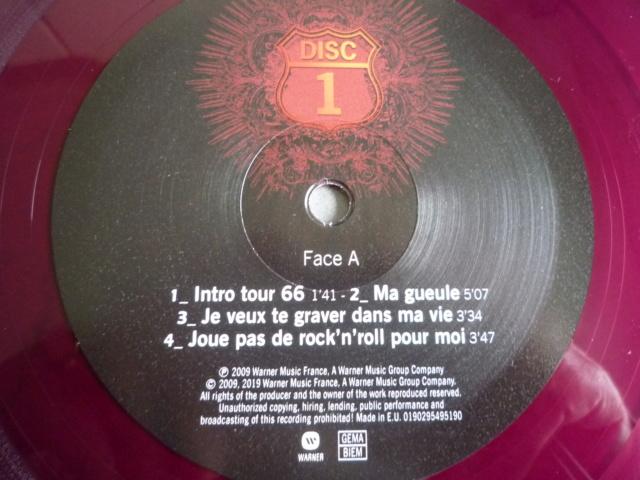 """quadruple vinyle """"stade de france 2009-tour 66"""" édité par WARNER P1610511"""