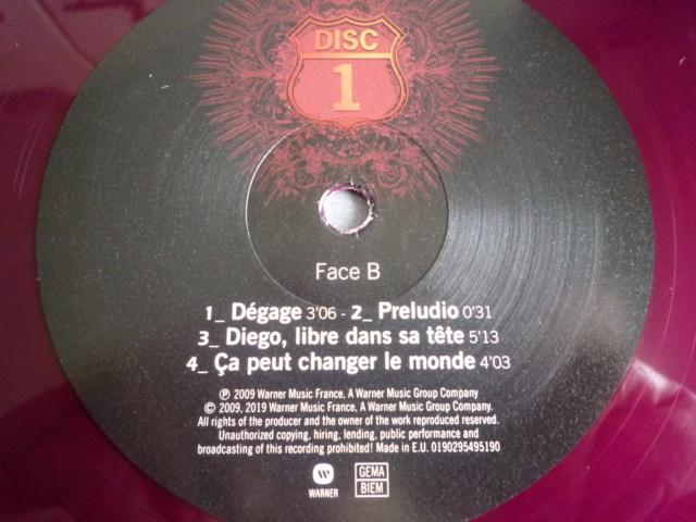 """quadruple vinyle """"stade de france 2009-tour 66"""" édité par WARNER P1610512"""