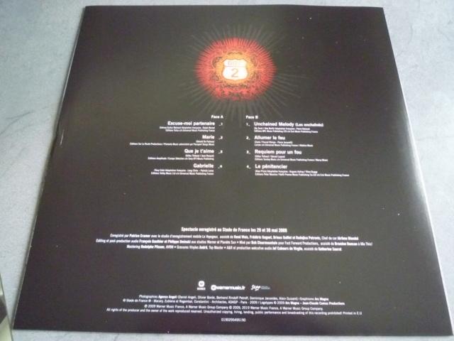 """quadruple vinyle """"stade de france 2009-tour 66"""" édité par WARNER P1610513"""
