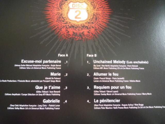 """quadruple vinyle """"stade de france 2009-tour 66"""" édité par WARNER P1610514"""