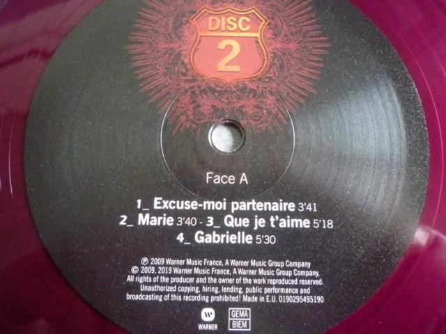 """quadruple vinyle """"stade de france 2009-tour 66"""" édité par WARNER P1610515"""