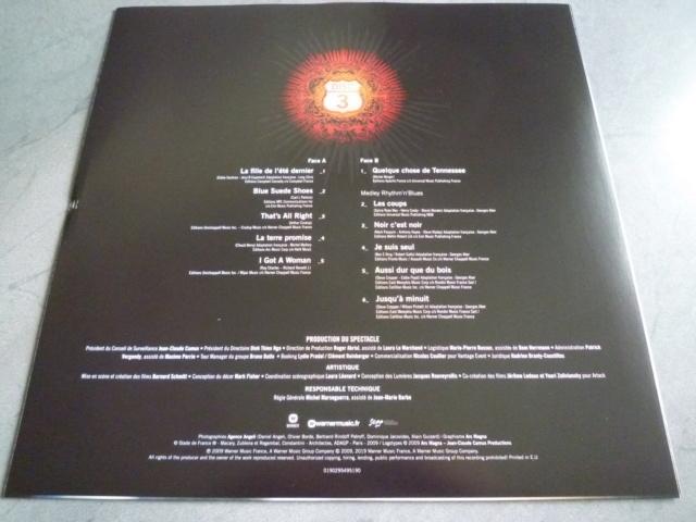 """quadruple vinyle """"stade de france 2009-tour 66"""" édité par WARNER P1610516"""