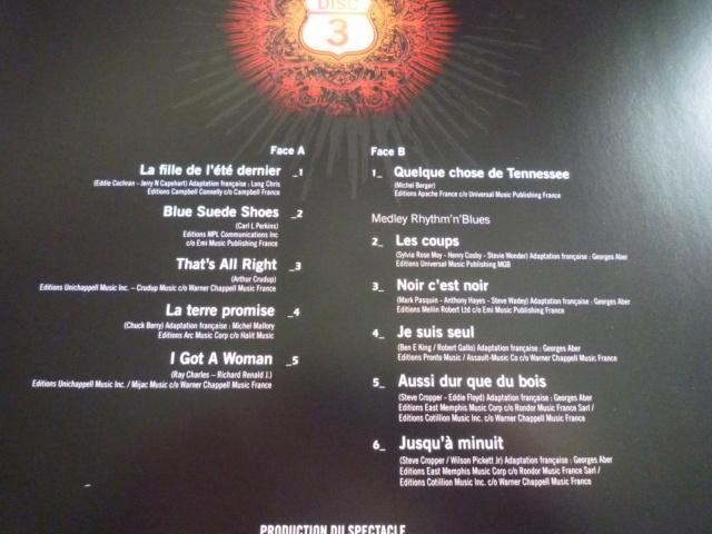 """quadruple vinyle """"stade de france 2009-tour 66"""" édité par WARNER P1610519"""