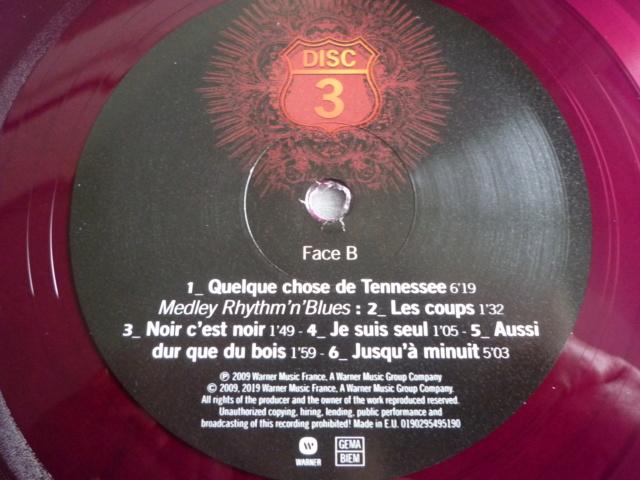"""quadruple vinyle """"stade de france 2009-tour 66"""" édité par WARNER P1610520"""