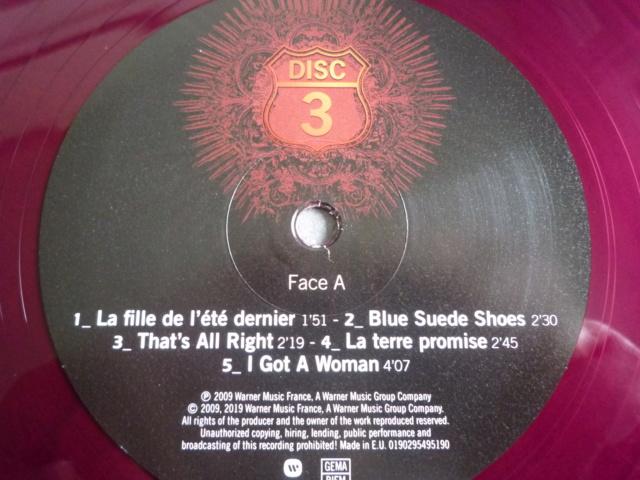 """quadruple vinyle """"stade de france 2009-tour 66"""" édité par WARNER P1610521"""