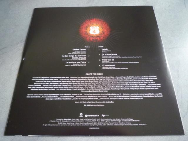 """quadruple vinyle """"stade de france 2009-tour 66"""" édité par WARNER P1610522"""