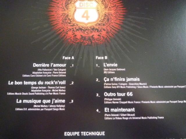 """quadruple vinyle """"stade de france 2009-tour 66"""" édité par WARNER P1610524"""