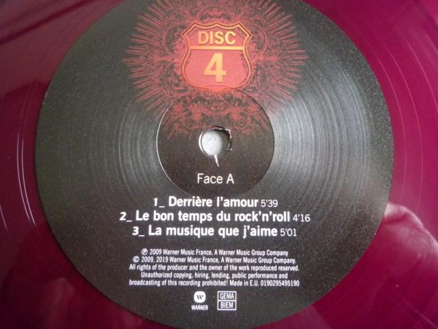 """quadruple vinyle """"stade de france 2009-tour 66"""" édité par WARNER P1610525"""