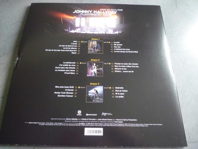 """triple vinyle """"palais des sports 2006-flashback tour"""" édité par WARNER P1610527"""