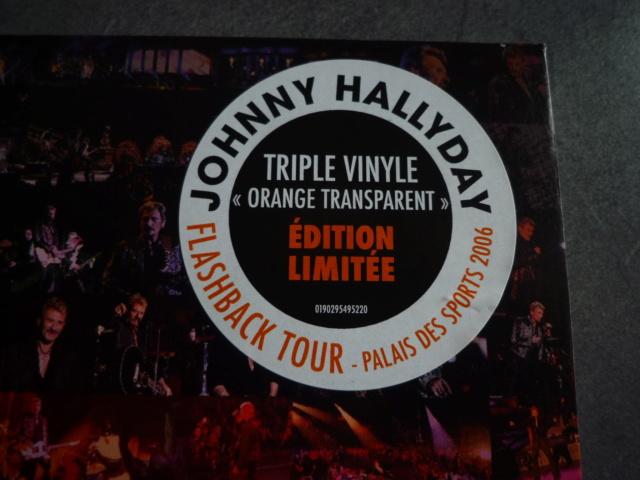 """triple vinyle """"palais des sports 2006-flashback tour"""" édité par WARNER P1610529"""