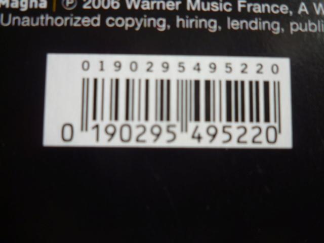 """triple vinyle """"palais des sports 2006-flashback tour"""" édité par WARNER P1610530"""