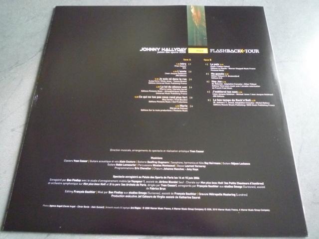 """triple vinyle """"palais des sports 2006-flashback tour"""" édité par WARNER P1610533"""