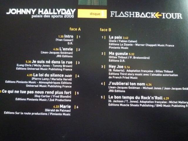 """triple vinyle """"palais des sports 2006-flashback tour"""" édité par WARNER P1610534"""