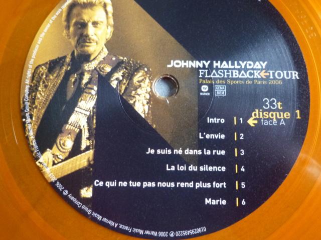"""triple vinyle """"palais des sports 2006-flashback tour"""" édité par WARNER P1610536"""